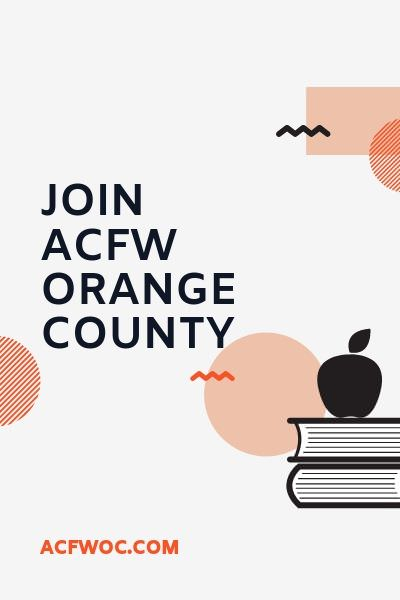 Here's how to join ACFW Orange County! acfwoc.com/join